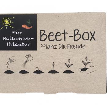 Beet-Box Balkonien Urlauber Bio Samen